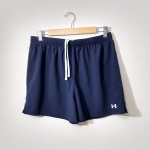 Under armour navy blue shorts